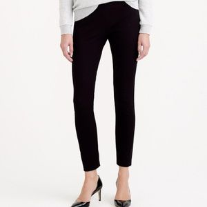 J. Crew Minnie Pant in Black Stretch Twill
